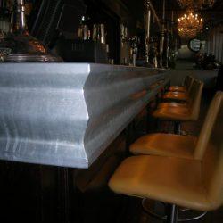 Zinc Bar Top